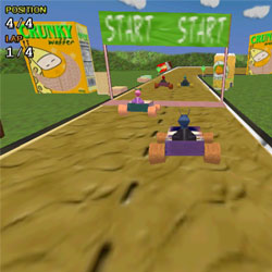 Flash-игры - Buggyracers